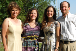 Steve Rosenberg and Ellen Lippman and Family